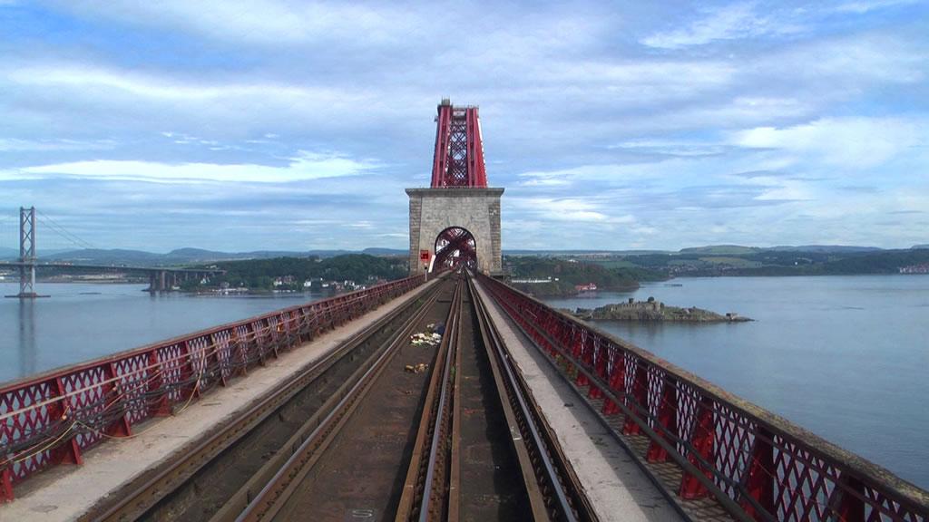 Gioconda Forth Bridge Filming