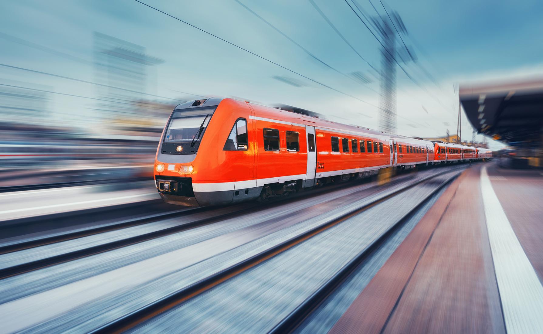 Реклама поезда картинки