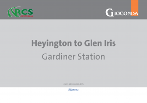 Heyington to Glen Iris Map Book